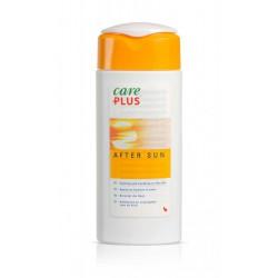geel witte verpakking met after sun van Care Plus
