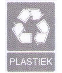 Sticker Plastiekafval