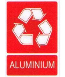 Sticker Aluminiumafval