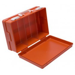 oranje grote enkelvaks verbandkoffer