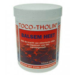 Toco-Tholin Balsem heet 250 ml.