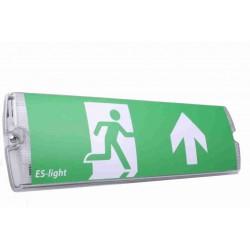 LED noodverlichting met testknop en pictogrammen