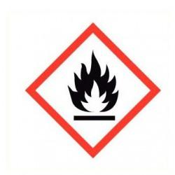 Sticker ontvlambare stoffen GHS