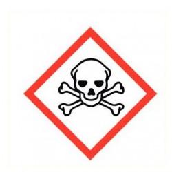 Sticker giftige stoffen GHS