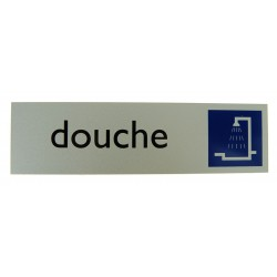 Alulook douche 165x45mm