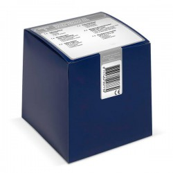 klein blauw doosje met verbandmiddelen