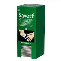 Salvequick navulling wondontsmettingsdoekjes 40st