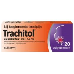 Trachitol zuigtablet 20 stuks