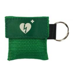 Kiss of life sleutelhanger groen
