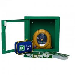 AED Samaritan PAD 500P met kast en tas compleet pakket