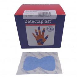 Vingertop pleister plastic detectie 50stuks (blauw)