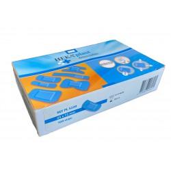 Pleister detectie plastic 25x72mm 100stuks (blauw)