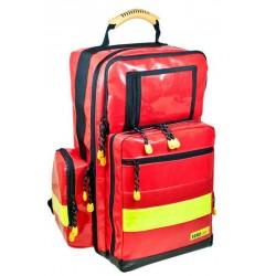 rode eerste hulptas met gele reflecterende striping