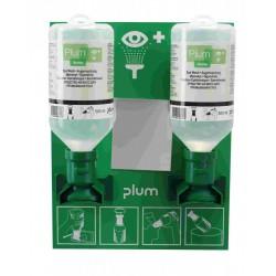 Plum oogspoelstation met 2 flessen PLUM4694