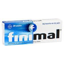 Finimal tablet 20 stuks