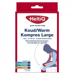 Koud-warmte kompres 12x29cm