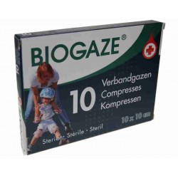 Biogaze 10 stuks 10x10 cm
