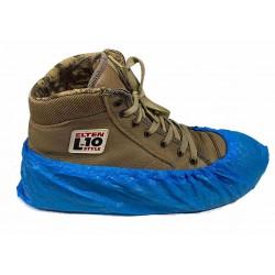 Schoenovertrek blauw 41cm 100 stuks