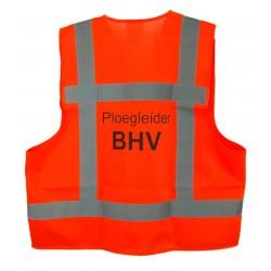 Veiligh.vest oranje PLOEGLEIDER BHV