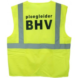 Veiligh.vest geel PLOEGLEIDER BHV (EN-471)