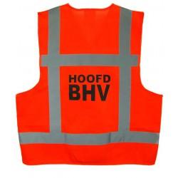 Veiligh.vest oranje HOOFD BHV (EN-471)