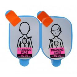 Defibtech vervangingsplakkers kinderen voor de AED trainer