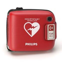 Philips Heartstart FRX tas rood