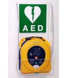 Plexiglas wandbeugel voor de Samaritan AED