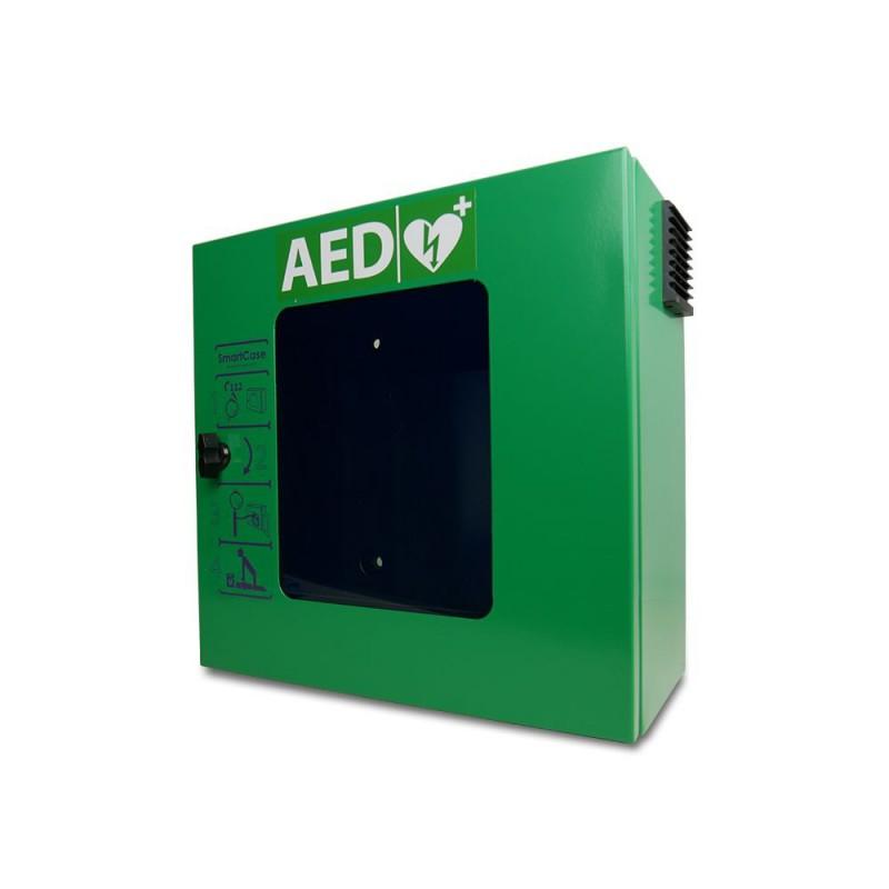 groene kast voor een AED