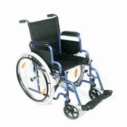 Opvouwbare rolstoel voor binnen en buiten