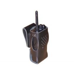 Lederen draagtas voor Motorola