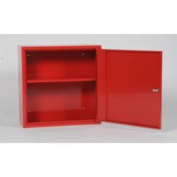 BHV kast 60x60x25cm rood