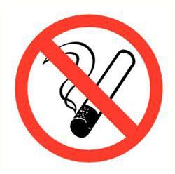 Pictogram roken verboden