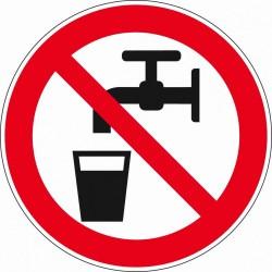 Pictogram geen drinkwater