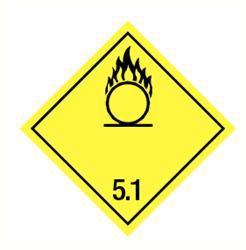 Sticker oxiderende stoffen(5.1)