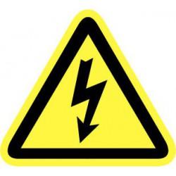 Pictogram Electrische spanning