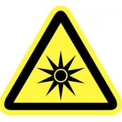Pictogram optische straling